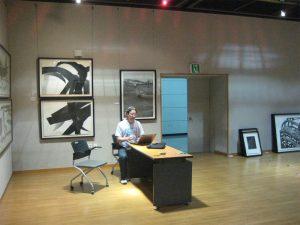 Show Curator Chris Nowicki